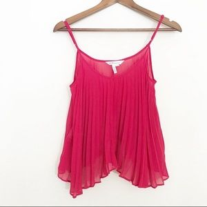 BCBGeneration Pleaded Top Size XS